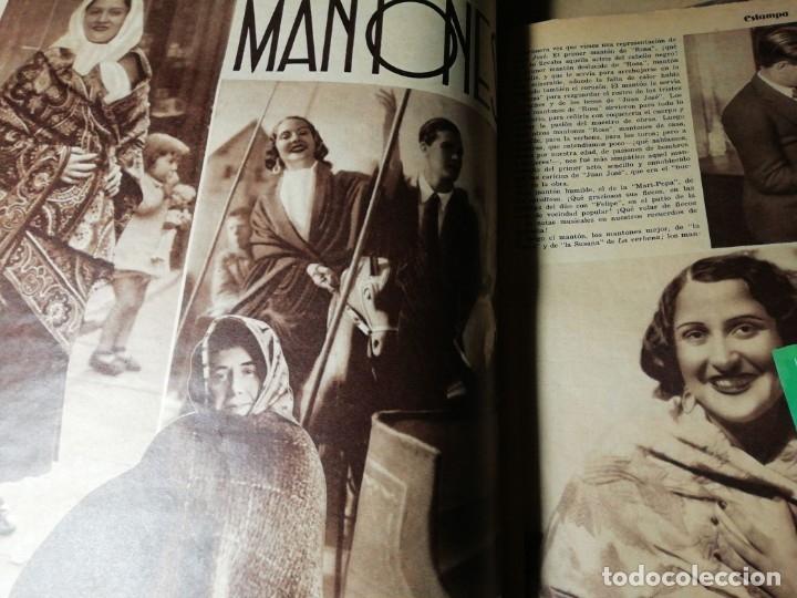 Coleccionismo de Revistas y Periódicos: revista estampa 1935 JUDIOS EN BARCELONA-LAVANDERA ZORITA(CACERES)-OLETZARO-MANTONES - Foto 5 - 182701323