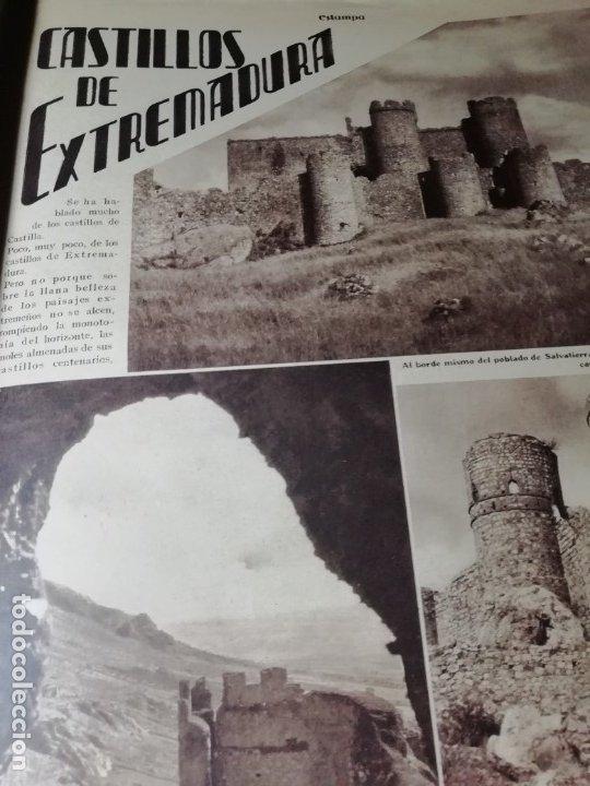 Coleccionismo de Revistas y Periódicos: revista estampa 1935 RAZA AGOTES NAVARRA VALLE BAZTAN-CASTILLOS EXTREMADURA-RUTA GENERAL GOMEZ - Foto 4 - 182702702