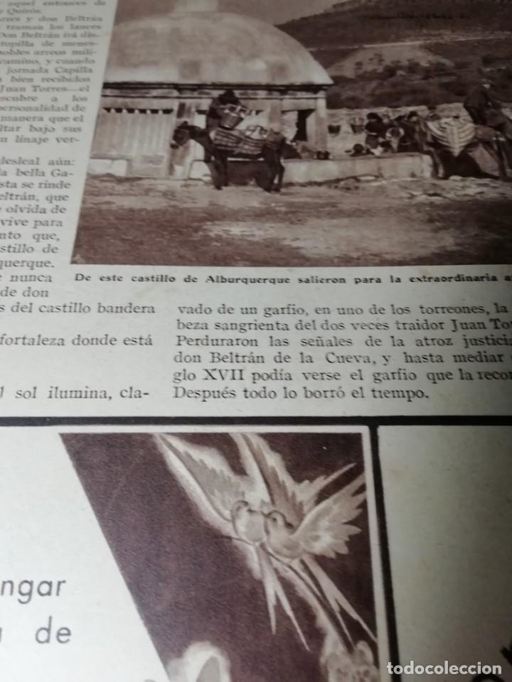 Coleccionismo de Revistas y Periódicos: revista estampa 1935 RAZA AGOTES NAVARRA VALLE BAZTAN-CASTILLOS EXTREMADURA-RUTA GENERAL GOMEZ - Foto 5 - 182702702