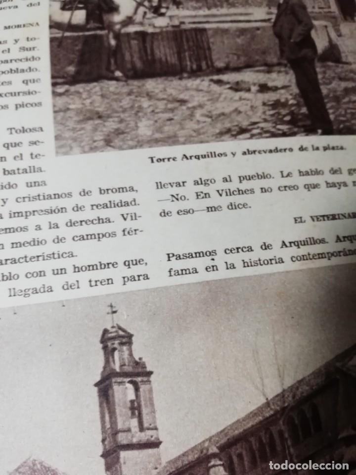 Coleccionismo de Revistas y Periódicos: revista estampa 1935 RAZA AGOTES NAVARRA VALLE BAZTAN-CASTILLOS EXTREMADURA-RUTA GENERAL GOMEZ - Foto 6 - 182702702