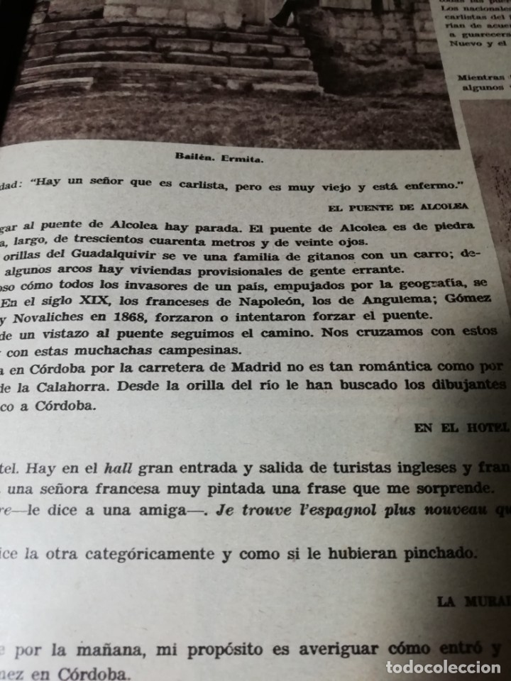 Coleccionismo de Revistas y Periódicos: revista estampa 1935 RAZA AGOTES NAVARRA VALLE BAZTAN-CASTILLOS EXTREMADURA-RUTA GENERAL GOMEZ - Foto 7 - 182702702