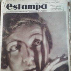 Coleccionismo de Revistas y Periódicos: REVISTA ESTAMPA 1935 RAZA AGOTES NAVARRA VALLE BAZTAN-CASTILLOS EXTREMADURA-RUTA GENERAL GOMEZ. Lote 182702702