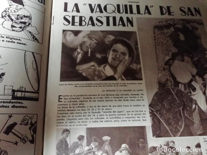 Coleccionismo de Revistas y Periódicos: revista estampa 1935 LA VAQUILLA DE SAN SEBASTIAN -BRUJAS EN EL PAIS VASCO(ATAUN)-NITA GUERRI - Foto 2 - 182710667