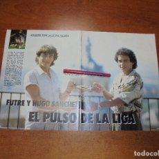 Coleccionismo de Revistas y Periódicos: CLIPPING 1987: ENTREVISTA A FUTRE Y HUGO SÁNCHEZ. . Lote 182737606
