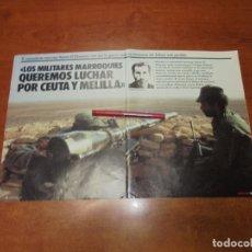 Coleccionismo de Revistas y Periódicos: RETAL 1987: ENTREVISTA A OFICIAL PRISIONERO EN EL SAHARA Y A UN JEFE DEL FRENTE POLISARIO. Lote 182737656