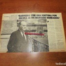 Coleccionismo de Revistas y Periódicos: RETAL 1987: ENTREVISTA A XERARDO FERNÁNDEZ ALBOR, PRESIDENTE DE LA XUNTA DE GALICIA. Lote 182737662