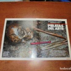 Coleccionismo de Revistas y Periódicos: RETAL 1987: PIRATAS DEL ARTE, EXPOLIOS EN EL PATRIMONIO ESPAÑOL - PUBLICIDAD PEGASO EKUS. Lote 182737666