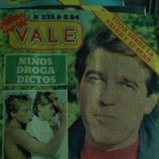 Coleccionismo de Revistas y Periódicos: REVISTA NUEVO VALE 235 PEPE NAVARRO, 1984. Lote 182745420