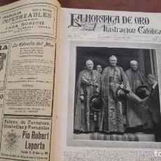 Coleccionismo de Revistas y Periódicos: TOMO REVISTA LA HORMIGA DE ORO AÑO 1927 Nº 27 AL 52 AÑO 1927 MULTITUD DE NOTICIAS DE LA EPOCA. Lote 182760015