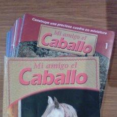 Coleccionismo de Revistas y Periódicos: COLECCIÓN MI AMIGO EL CABALLO PLANETA DE AGOSTINI 30 VOLUMENES DEL COLECCIONABLE. Lote 182771715