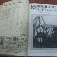 Coleccionismo de Revistas y Periódicos: TOMO REVISTA LA HORMIGA DE ORO AÑO 1928 Nº 1 AL 26 AÑO 1928 MULTITUD DE NOTICIAS DE LA EPOCA. Lote 182799065