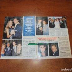 Coleccionismo de Revistas y Periódicos: CLIPPING 1997: ANTIGUO NOVIO MARC BOSKAMP FELICITA A MIRANDA - SONIA MOLDES, CONDE LEQUIO - BON JOVI. Lote 182814436
