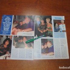 Coleccionismo de Revistas y Periódicos: CLIPPING 1997: SARA MONTIEL. PASARELA CIBELES. ESTHER CAÑADAS. LORENA FORTEZA. JESÚS DEL POZO. VERIN. Lote 182814441