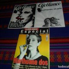Coleccionismo de Revistas y Periódicos: AJOBLANCO Nº 5 ESPECIAL MARIHUANA DOS. VERANO 1998. 600 PTS. REGALO DOS LÁMINAS. BUEN ESTADO.. Lote 182843805