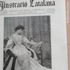 Coleccionismo de Revistas y Periódicos: ILUSTRACIÓ CATALANA Nº146 1906 FOTOS APLEC ERMITA DE SANT MEDI (SANT CUGAT DEL VALLES). Lote 182854145