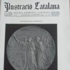 Coleccionismo de Revistas y Periódicos: ILUSTRACIÓ CATALANA Nº186 1906 FOTOS LOS PESSEBRES AMADEU OLOT . Lote 182854828