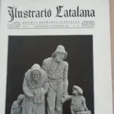 Coleccionismo de Revistas y Periódicos: ILUSTRACIÓ CATALANA Nº185 1906 FOTOS TOSSA DE MAR . Lote 182855081