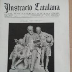 Coleccionismo de Revistas y Periódicos: ILUSTRACIÓ CATALANA Nº183 1906 FOTOS ESGLESIA SANT MARTI SARROCA. Lote 182855338