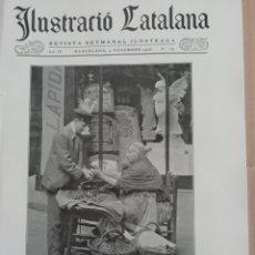 Coleccionismo de Revistas y Periódicos: ILUSTRACIÓ CATALANA Nº179 1906 FOTOS RIUDOMS (TARRAGONA). Lote 182859562