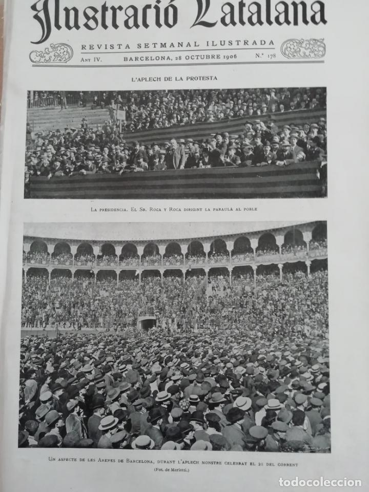ILUSTRACIÓ CATALANA Nº178 1906 FOTOS GELIDA (Coleccionismo - Revistas y Periódicos Antiguos (hasta 1.939))