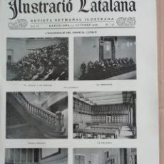 Coleccionismo de Revistas y Periódicos: ILUSTRACIÓ CATALANA Nº176 1906 FOTOS TORRE PUIG I CADAFALCH ARGENTONA . Lote 182860347