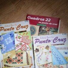 Coleccionismo de Revistas y Periódicos: LOTE DE REVISTAS DE PUNTO DE CRUZ . Lote 182863323