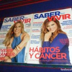 Coleccionismo de Revistas y Periódicos: TVE SABER VIVIR Nº 136 ANA BELÉN Nº 220 HELEN LINDES Y Nº 224 EDURNE.. Lote 58321814