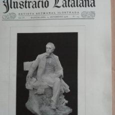 Coleccionismo de Revistas y Periódicos: ILUSTRACIÓ CATALANA Nº173 1906 FOTOS SANTA COLOMA DE FARNERS. Lote 182867761
