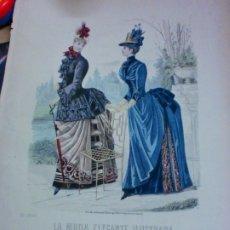 Coleccionismo de Revistas y Periódicos: LA MODA ELEGANTE ILUSTRADA LAMINA Nº 1863. Lote 182880032