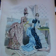 Coleccionismo de Revistas y Periódicos: LA MODA ELEGANTE ILUSTRADA LAMINA Nº 1861 . Lote 182880433