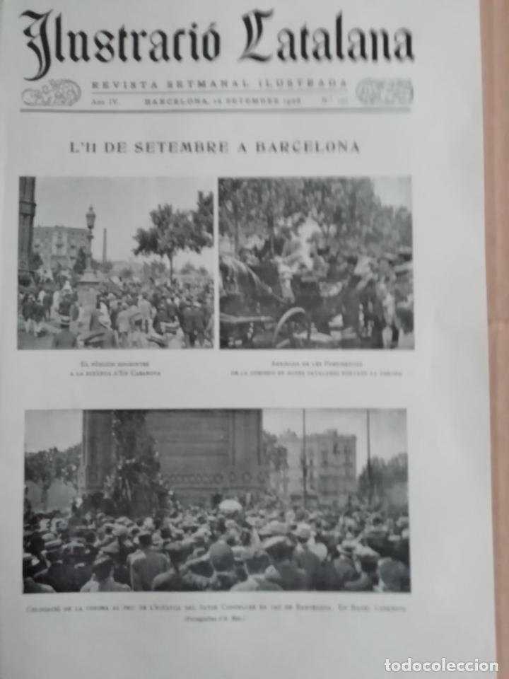 ILUSTRACIÓ CATALANA Nº172 1906 FOTOS SANT FELIU SASSERRA (Coleccionismo - Revistas y Periódicos Antiguos (hasta 1.939))