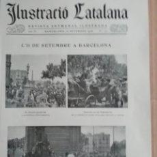 Coleccionismo de Revistas y Periódicos: ILUSTRACIÓ CATALANA Nº172 1906 FOTOS SANT FELIU SASSERRA. Lote 182886662