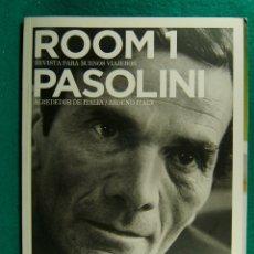 Coleccionismo de Revistas y Periódicos: ROOM 1-REVISTA PARA BUENOS VIAJEROS-LA ITALIA DE PASOLINI-INSTRUCCIONES PARA DESCORCHAR-2008-Nº 1.. Lote 182889477