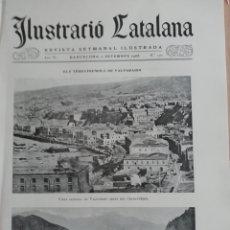 Coleccionismo de Revistas y Periódicos: ILUSTRACIÓ CATALANA Nº170 1906 FOTOS FESTEA DEL ARBRE FRIUTER A MOYA . Lote 182908070