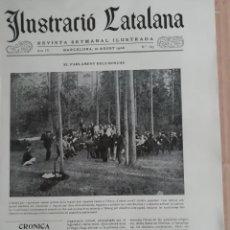 Coleccionismo de Revistas y Periódicos: ILUSTRACIÓ CATALANA Nº169 1906 FOTOS DOSRIUS. Lote 182909866
