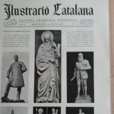 Coleccionismo de Revistas y Periódicos: ILUSTRACIÓ CATALANA Nº164 1906 FOTOS VALL D'ARAN:SALARDU,BOSSOST ESCUNYAU ARTIES SALARDU,LES. Lote 182910952