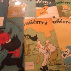 Coleccionismo de Revistas y Periódicos: 52 REVISTAS GUTIERREZ. Lote 182912301