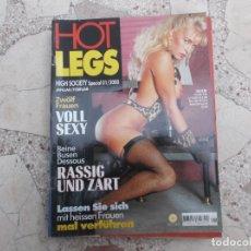 Coleccionismo de Revistas y Periódicos: HOT LEGS HIGH SOCIETY Nº 1/2000, REVISTA EROTICA SOLO PARA ADULTOS , EN ALEMAN,. Lote 194581820