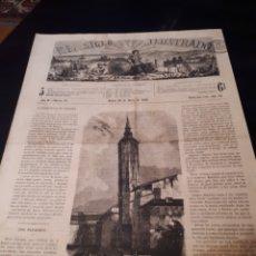 Colecionismo de Revistas e Jornais: EL SIGLO ILUSTRADO. PERIODICO 23 MARZO 1868. NUMERO 45. Lote 182989227