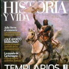 Coleccionismo de Revistas y Periódicos: HISTORIA Y VIDA Nº 521-522-523-524. LOTE DE 4 NÚMEROS.. Lote 183014187