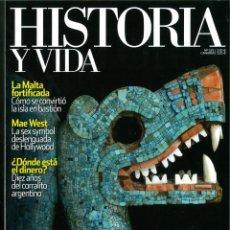 Coleccionismo de Revistas y Periódicos: HISTORIA Y VIDA Nº 525-526-527-528. LOTE DE 4 NÚMEROS.. Lote 183014568