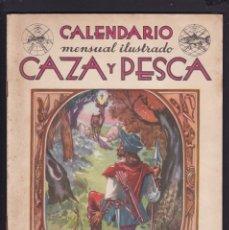 Coleccionismo de Revistas y Periódicos: CALENDARIO MENSUAL ILUSTRADO * CAZA Y PESCA * ARMAS Y GUARDERIA - Nº 71 / NOVIEMBRE 1948 - ILUSTRADA. Lote 183014955