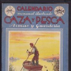 Coleccionismo de Revistas y Periódicos: CALENDARIO MENSUAL ILUSTRADO * CAZA Y PESCA* ARMAS Y GUARDERIA - Nº 45 / SEPTIEMBRE 1946 - ILUSTRADA. Lote 183016948