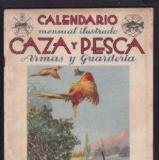 Coleccionismo de Revistas y Periódicos: CALENDARIO MENSUAL ILUSTRADO * CAZA Y PESCA * ARMAS Y GUARDERIA - Nº 59 / NOVIEMBRE 1947 - ILUSTRADA. Lote 183017461