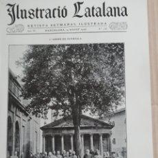 Coleccionismo de Revistas y Periódicos: ILUSTRACIÓ CATALANA Nº168 1906 FOTOS SANTA MARIA DE BELLPUIG DE LES ABELLANES. Lote 183037392