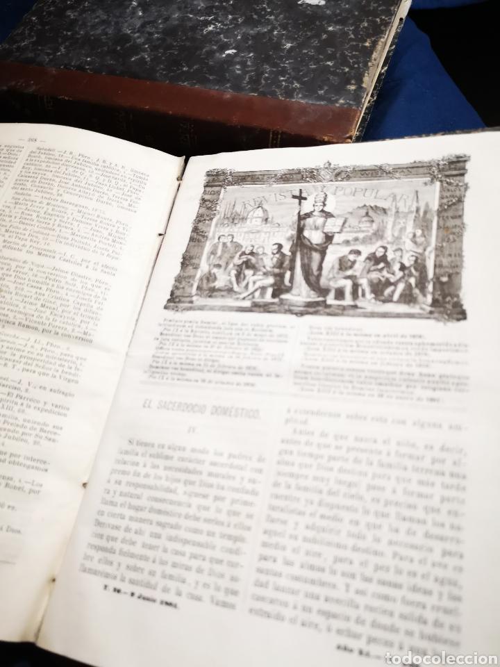 REVISTA POPULAR 1880 - 1881, NÚMEROS DEL 499 AL 551. MUY DIFÍCIL! (Coleccionismo - Revistas y Periódicos Antiguos (hasta 1.939))