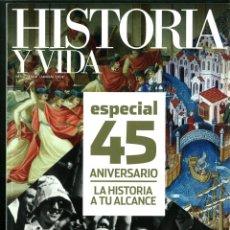 Coleccionismo de Revistas y Periódicos: HISTORIA Y VIDA Nº 542-543-545-546. LOTE DE 4 NÚMEROS.. Lote 183059860