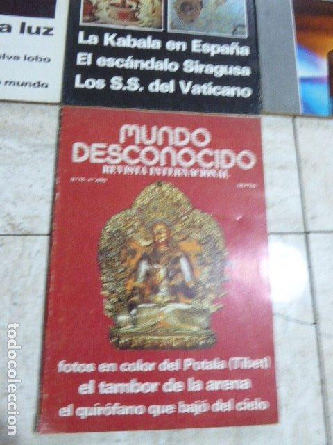 Coleccionismo de Revistas y Periódicos: LOTE DE 7 REVISTAS DE MUNDO DESCONOCIDO. Nº 25 - 28 - 29 - 30 - 31 - 42 Y 45. - Foto 4 - 183066706