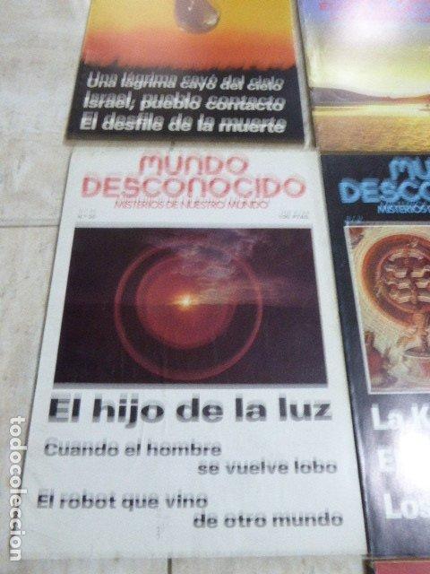 Coleccionismo de Revistas y Periódicos: LOTE DE 7 REVISTAS DE MUNDO DESCONOCIDO. Nº 25 - 28 - 29 - 30 - 31 - 42 Y 45. - Foto 5 - 183066706