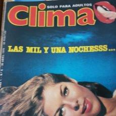 Coleccionismo de Revistas y Periódicos: LOTE ANTIGUAS REVISTAS ERÓTICAS CLIMA. Lote 183203195